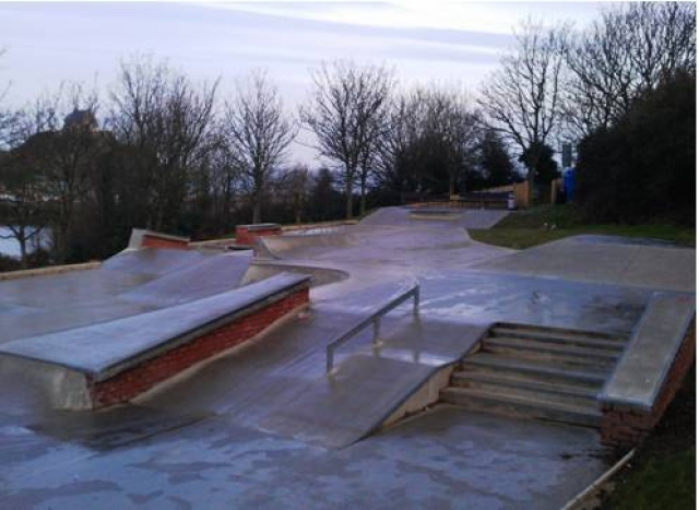 The Benricks Skate Park, Ilfracombe